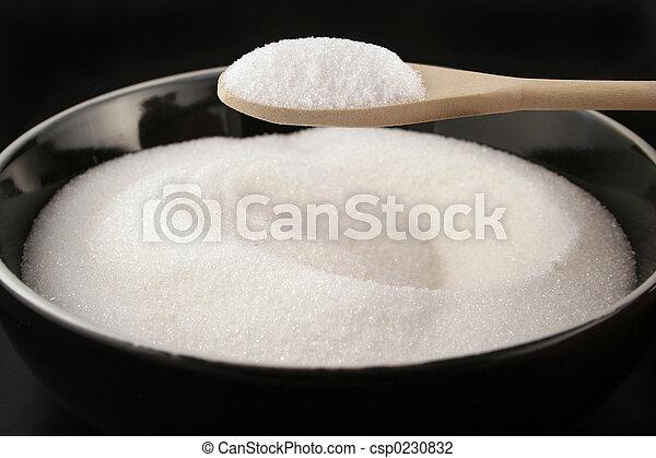 sugar bowl and spoon - csp0230832
