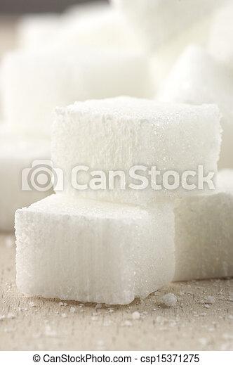 Sugar cubes - csp15371275
