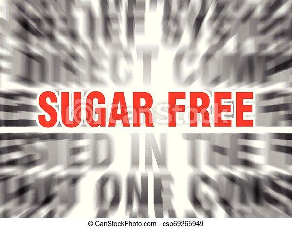 sugar free - csp69265949