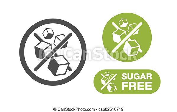 Sugar Free stamp - in 3 variations - csp82510719
