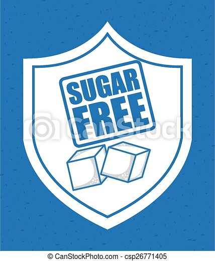 sugar free - csp26771405