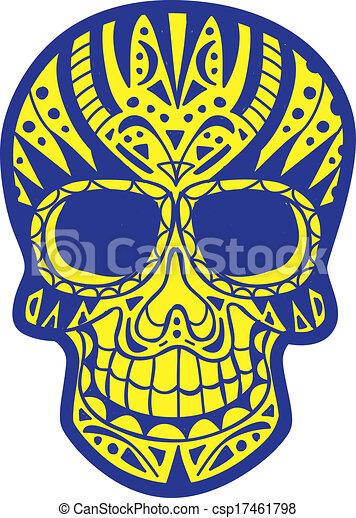 sugar skull - csp17461798