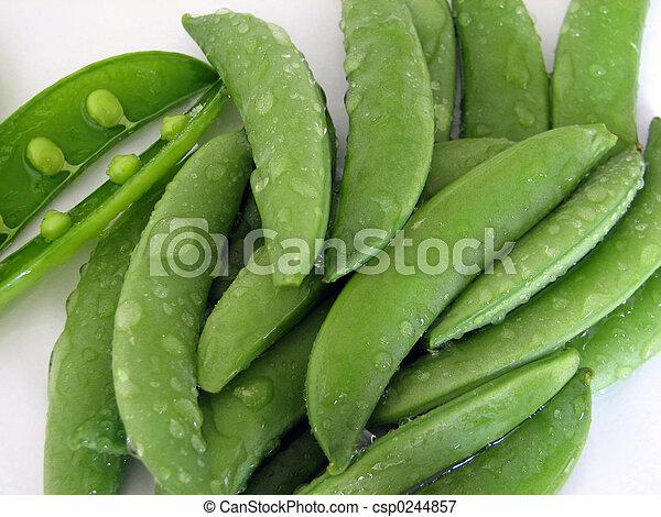 Sugar Snap Peas - csp0244857