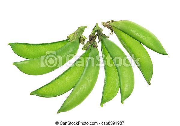 Sugar Snap Peas - csp8391987