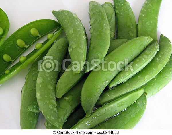 Sugar Snap Peas - csp0244858
