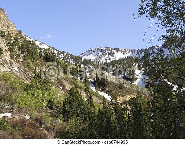 Sugarloaf mountain, Alta - csp0744935