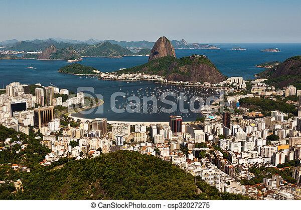 Sugarloaf Mountain, Rio de Janeiro - csp32027275