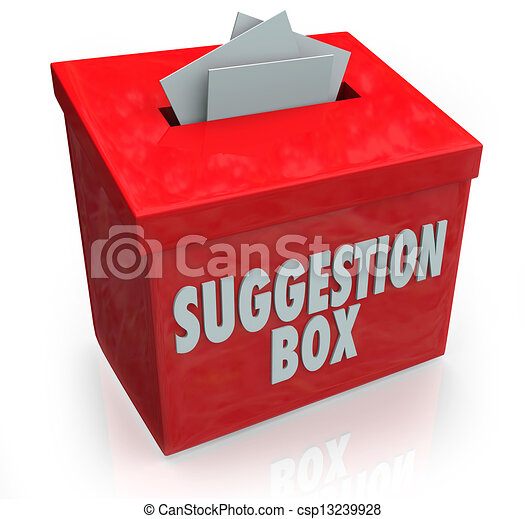 Suggestion Box Ideas Submission Comments - csp13239928