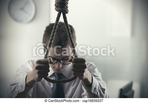 suicidio - csp16839337