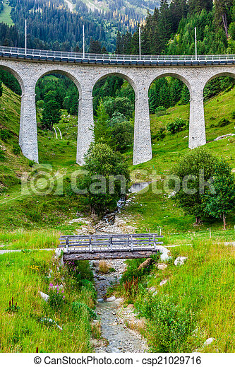 suisse, railway., switzerland. - csp21029716