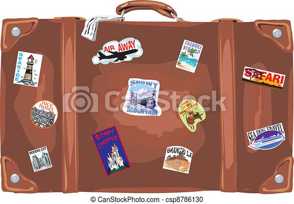 suitcase - traveling - csp8786130
