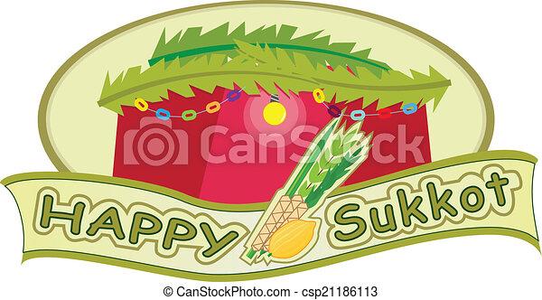 Feliz sukkot - csp21186113