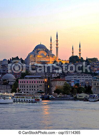 Suleymaniye Mosque - csp15114365