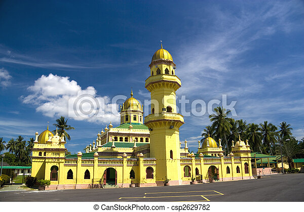 Sultan Alaeddin Mosque, Malaysia - csp2629782
