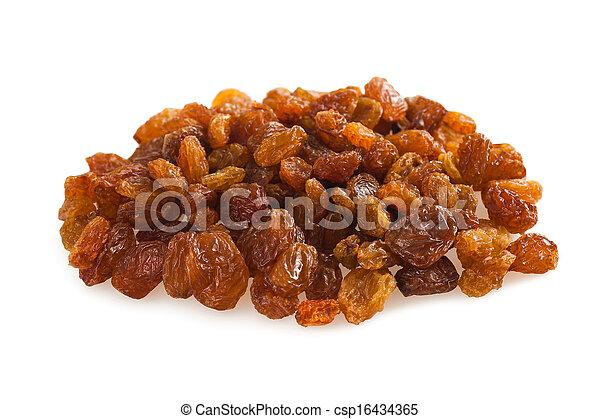 Sultana raisins - csp16434365
