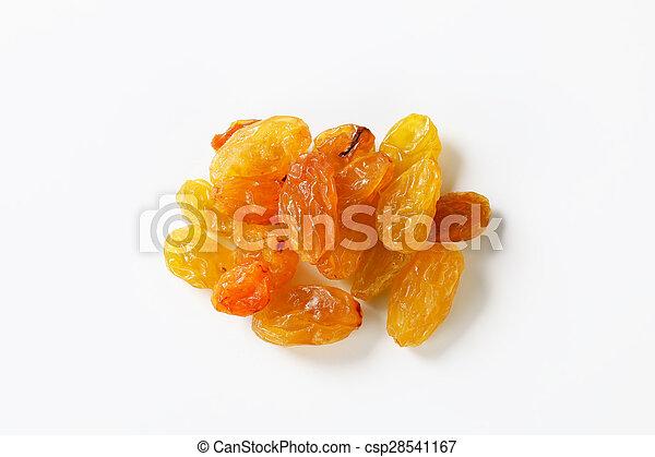 Sultana raisins - csp28541167