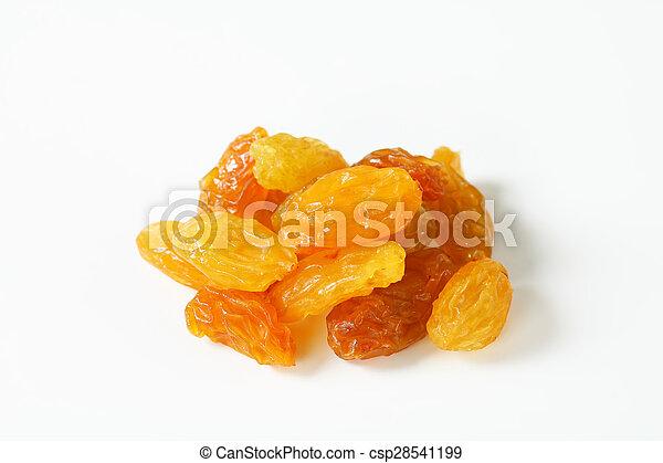Sultana raisins - csp28541199