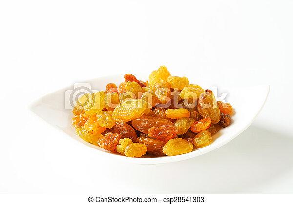 Sultana raisins - csp28541303