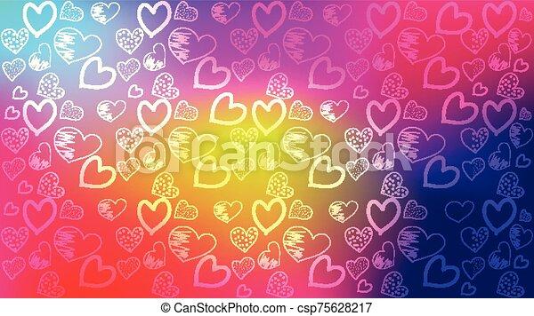 sumario amor, plantilla, plano de fondo - csp75628217