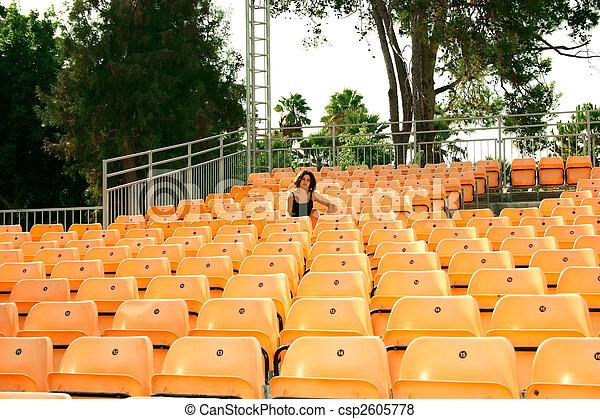 Summer amphitheater - csp2605778