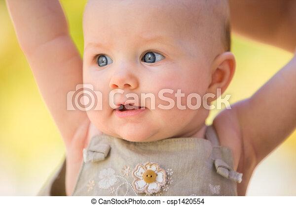 Summer Baby Girl - csp1420554