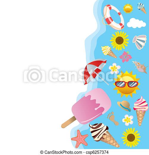 Summer background - csp6257374