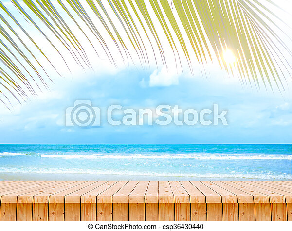 Summer Background - csp36430440