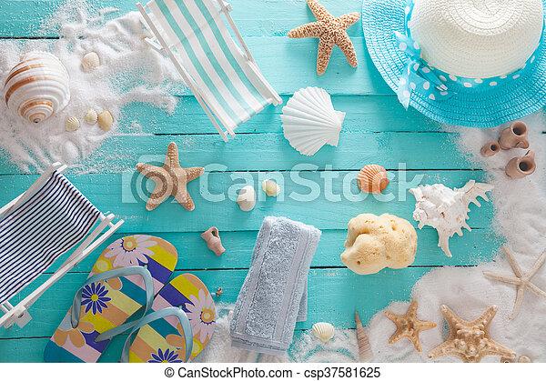 Summer background - csp37581625