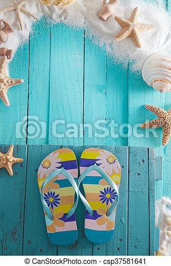 Summer background - csp37581641
