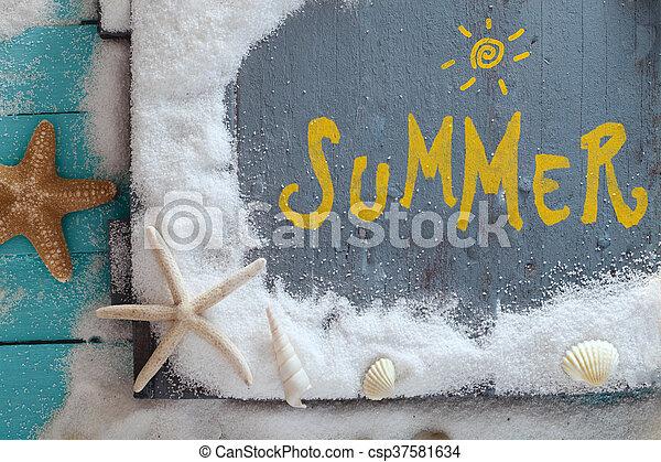 Summer background - csp37581634