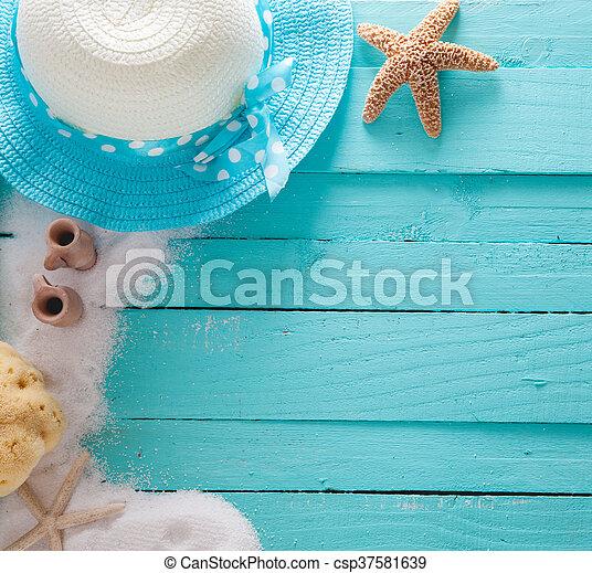 Summer background - csp37581639