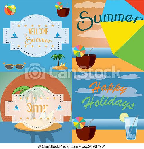 summer background - csp20987901