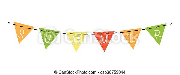 Summer Banner - csp38753044