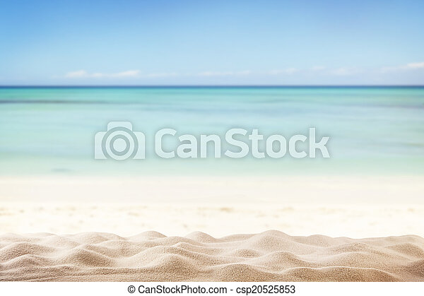 Summer beach background - csp20525853