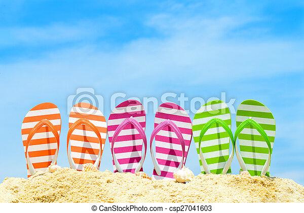 Summer beach - csp27041603