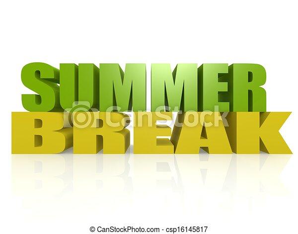 Summer Break Hi Res Original 3d Rendered Computer Generated Artwork