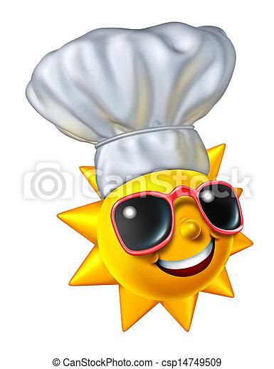 Summer Cooking - csp14749509