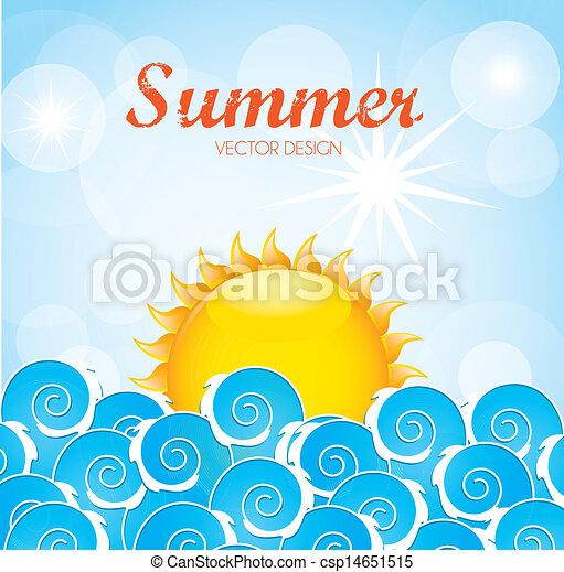 summer design - csp14651515