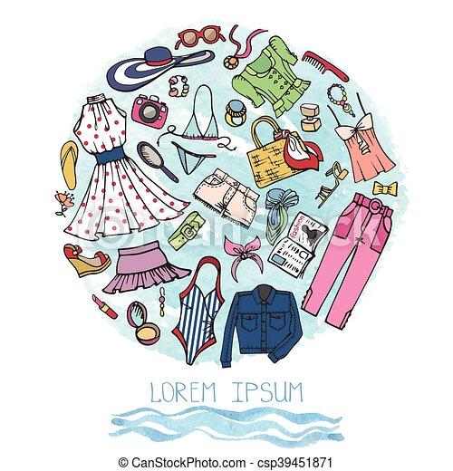 ad771686fff2 Summer fashion set.woman