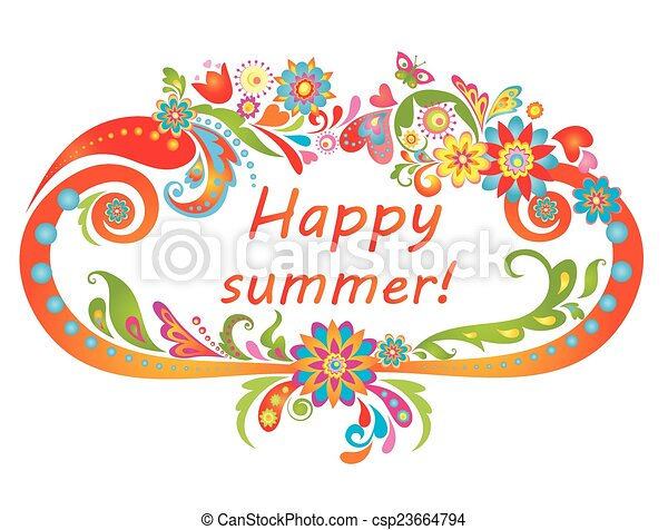 ¡Feliz verano! - csp23664794