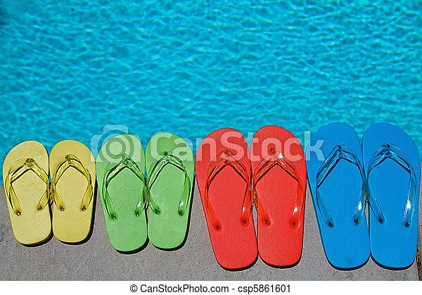 Summer Flipflops - csp5861601
