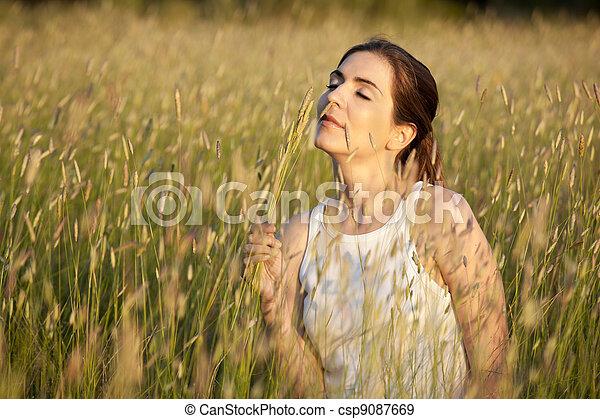 Summer fragrance - csp9087669