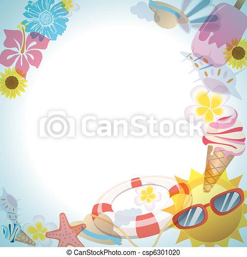 Summer frame - csp6301020