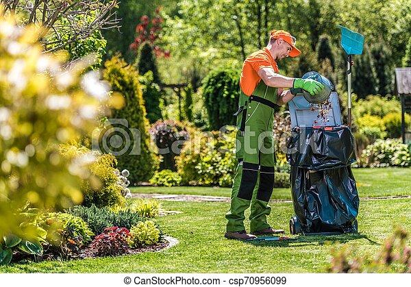 Summer Garden Maintenance - csp70956099