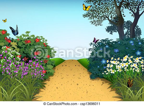 Summer Garden   Csp13696011