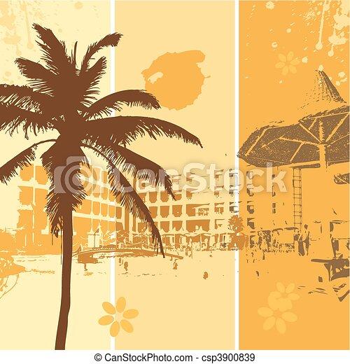 Summer holiday - csp3900839