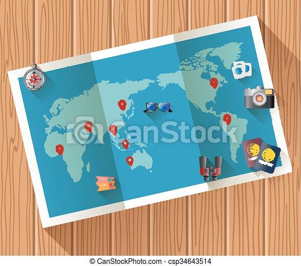 Summer holiday vacation - csp34643514
