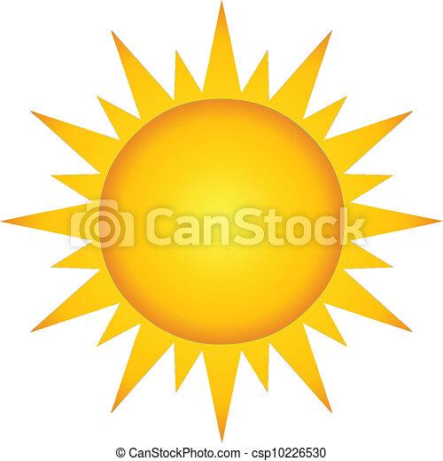 Summer Hot Sun - csp10226530