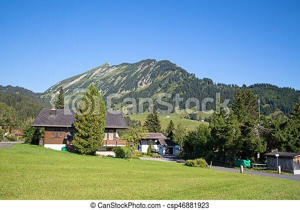 Summer in alps - csp46881923