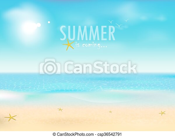 Summer Is Coming   Csp36542791
